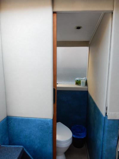 Теплоход Сицилия, туалет