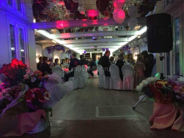 Теплоход Чайка свадьба