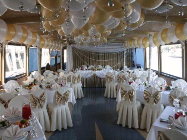 Теплоход Мираж свадьба