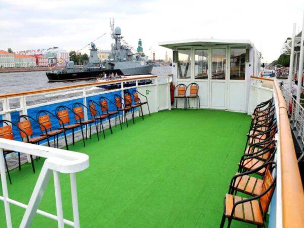 Теплоход Москва 3 верхняя палуба