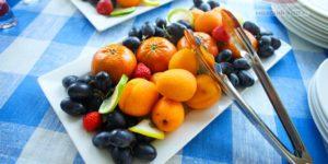 кофе брейк фрукты