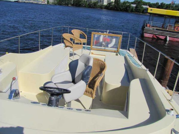 Яхта Nordic Blues внешний вид