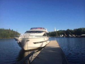 Яхта Elegance 65 внешний вид