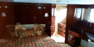 Яхта Fair Line 74 каюта
