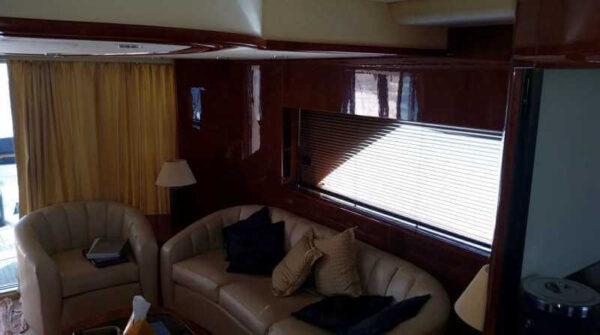 Яхта Fair Line 74 салон