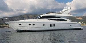 Яхта Princess 67