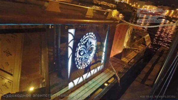 катер Византия символ на борту